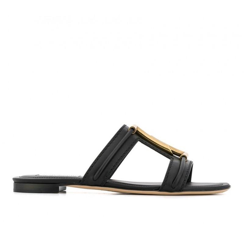 tod's nouveautés sandales SandalesMULTI - CUIR - NOIR