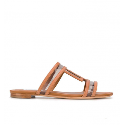 tod's nouveautés sandales SandalesMULTI - CUIR ET VINYLE - NATUREL