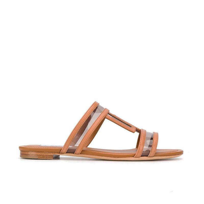 tod's sandales SandalesMULTI - CUIR ET VINYLE - NATUREL