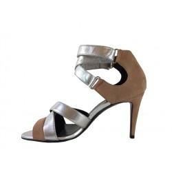 pierre hardy sandales Sandales FlaviaPHF SAND FLAVIA T8 - NUBUCK - NU