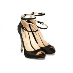 cesare paciotti sandales SandalesPACIO SAND PAT T11 - SATIN - NOI
