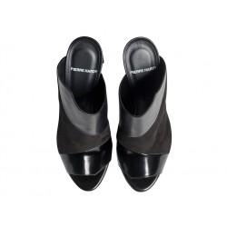 pierre hardy promotions sandales Sandales StellaPHF MULE STELLA T10 - CUIR ET NU
