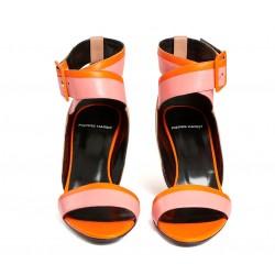 pierre hardy promotions sandales Sandales AlphaPHF ALPHA COMP T7 - CUIR - NUDE,