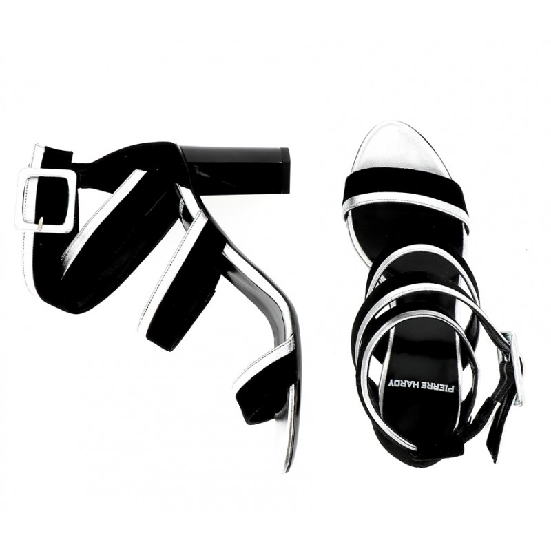 pierre hardy sandales Sandales AlphaPHF ALPHA SAND T8 - CUIR ET NUBU
