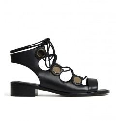 pierre hardy promotions sandales SandalesPHF PENNY SPARTIATE - CUIR - NOI