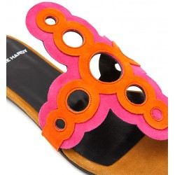 pierre hardy promotions sandales Sandales SaloniPHF SALONI MULE - NUBUCK - FUSHI