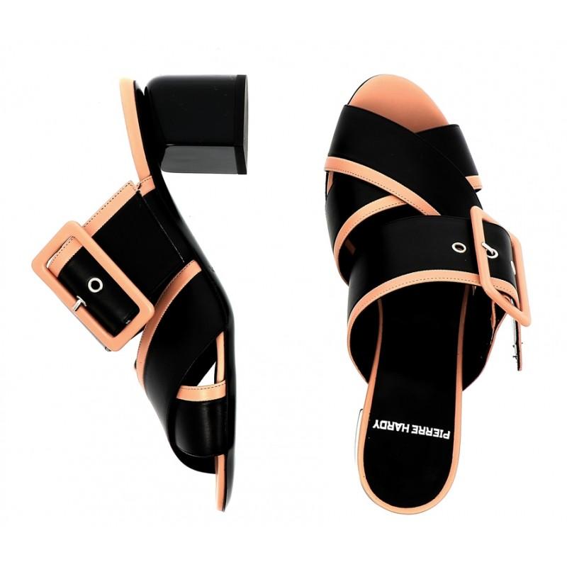 pierre hardy promotions sandales SandalesPHF GAE MULE T7 - CUIR ET ACCESS