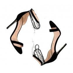 cesare paciotti promotions sandales SandalesPACIO SAND BIJOU T10 - NUBUCK -