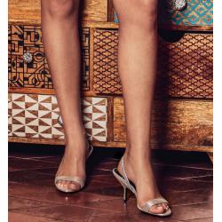 pierre hardy nouveautés sandales Sandales GalaPHF SAND GALA T70 - CUIR - ARGEN