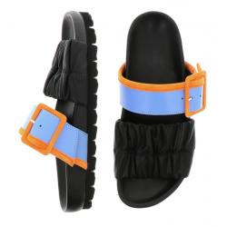 pierre hardy nouveautés sandales Sandales MarePHF BIRK MARE - CUIR BICOLORE ET