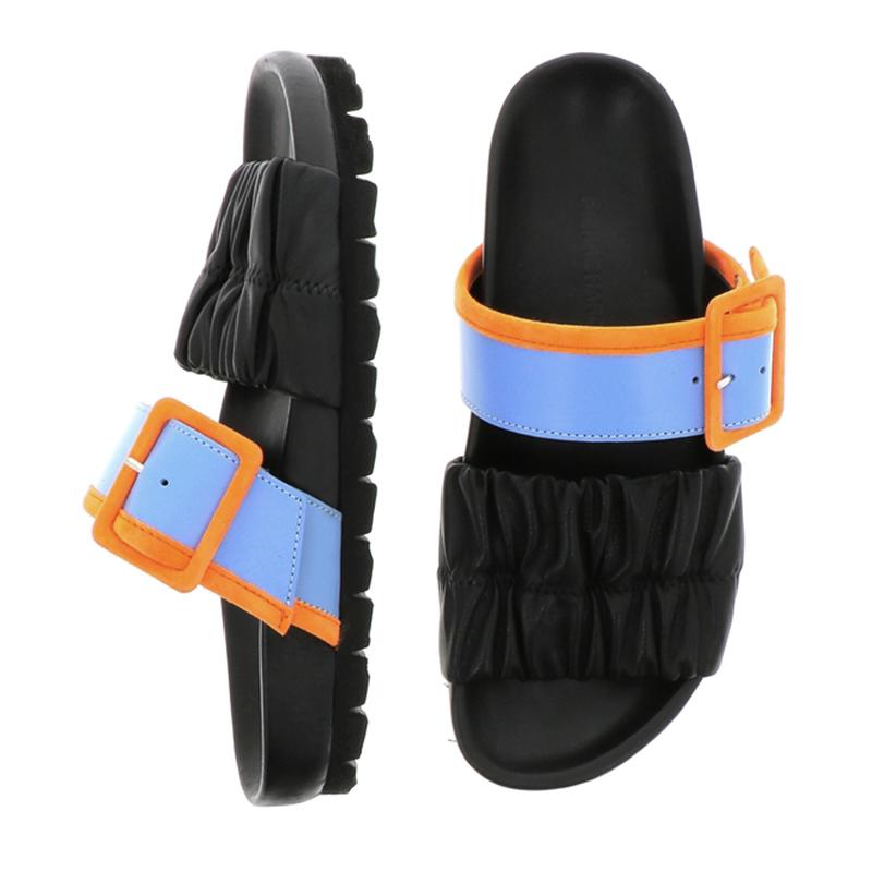 pierre hardy sandales Sandales MarePHF BIRK MARE - CUIR BICOLORE ET