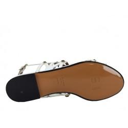sonia rykiel promotions sandales SandalesRY NUPIED LAZER - VERNIS - BLANC