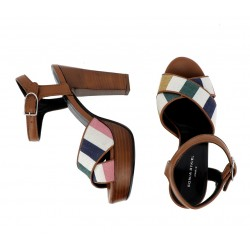 Sonia Rykiel promotions sandales Sandales MadameRY MADAME T9 - CUIR ET TISSUS -