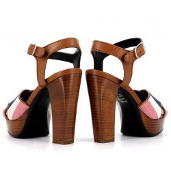 sonia rykiel sandales Sandales MadameRY MADAME T9 - CUIR ET TISSUS -