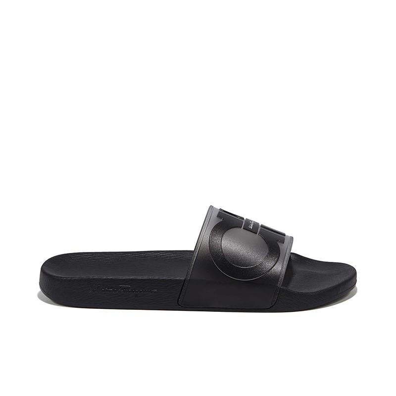 salvatore ferragamo sandales Flip FlopSF H CLAQUETTE - PVC - NOIR ET G