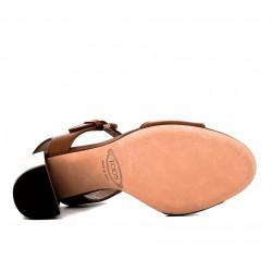 tod's promotions sandales SandalesSANDALA - CUIR - COGNAC