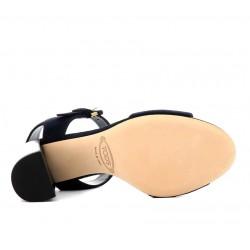 tod's promotions sandales SandalesSANDALA - NUBUCK - MARINE
