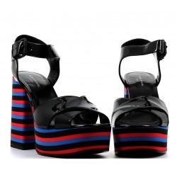 sonia rykiel promotions sandales SandalesRY SAND RAYE T9 - VERNIS - NOIR