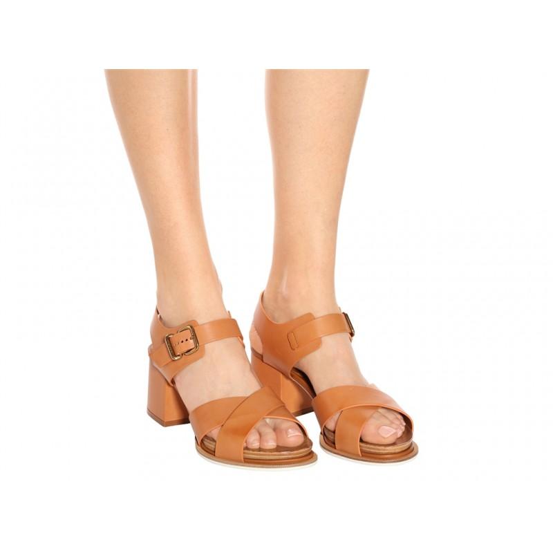 tod's sandales SandalesSOBOIS CROISE T4 - CUIR - GOLD