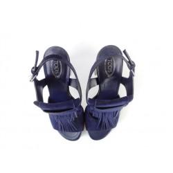 tod's promotions sandales SandalesSOFRANGE - NUBUCK - MARINE