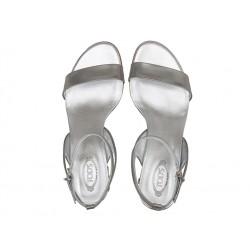 tod's sandales SandalesSOPICOT T5 - CUIR - ARGENT