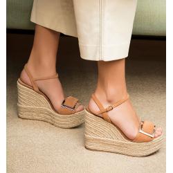 sergio rossi nouveautés sandales Sandales PrinceSR COMPENSE PRINCE - NUBUCK ET A
