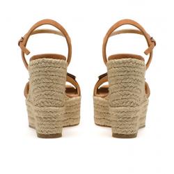 sergio rossi nouveautés sandales Sandales Prince compensées à talon 75 mmSR COMPENSE PRINCE - NUBUCK ET A