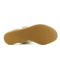 hogan promotions sandales SandalesTANAGRA - CUIR - OR