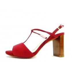 santoni promotions sandales SandalesSTYL - NUBUCK - BORDEAUX