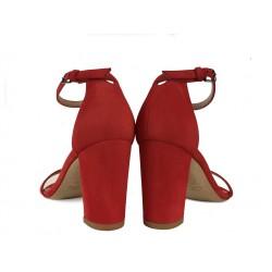stuart weitzman sandales Sandales NearlynudeSW NEARLYNUDE - NUBUCK - CORAIL