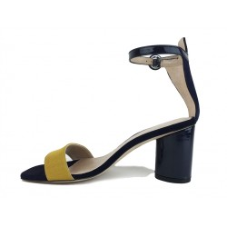 stuart weitzman promotions sandales Sandales KendraSW KENDRA - NUBUCK ET VERNIS - B