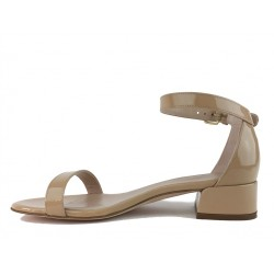 stuart weitzman sandales SandalesSW NUDISTJUNE - CUIR VERNI. - NU