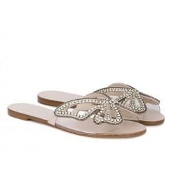 sophia webster promotions sandales SandalesWEB BUTTERFLY PLAT - GLITTER - A