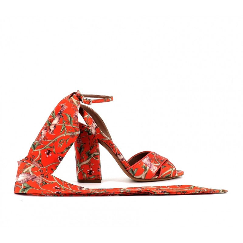 tabitha simmons promotions sandales Sandales ConnieTS SAND CONNIE T10 - SATIN À MOT