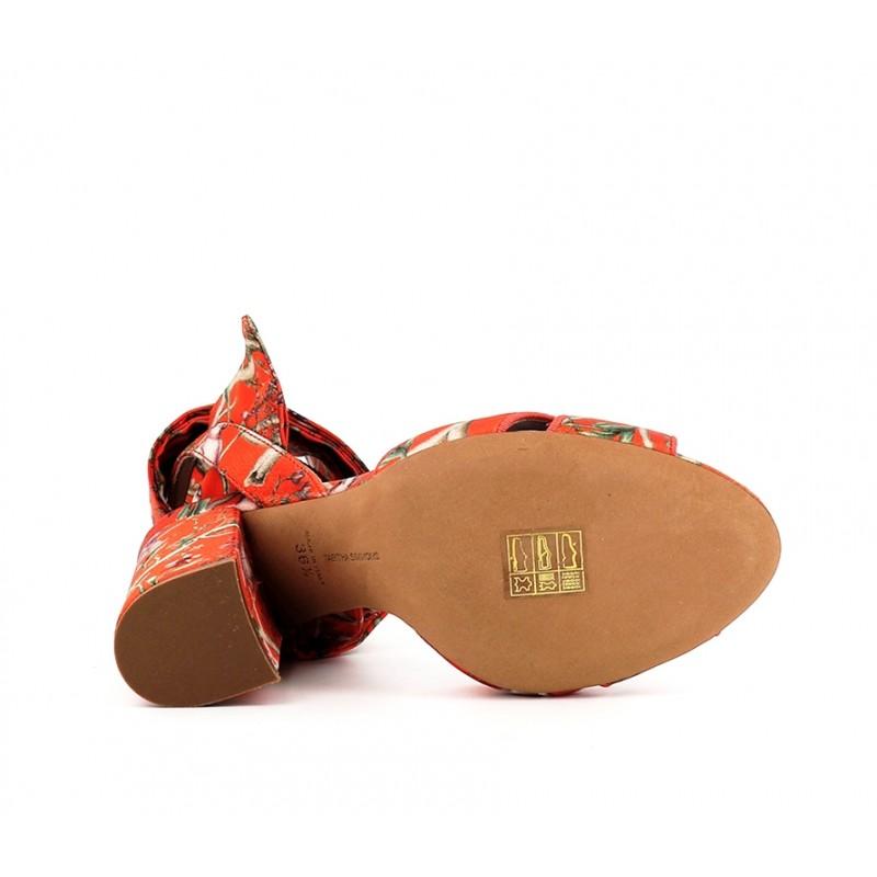 tabitha simmons sandales Sandales ConnieTS SAND CONNIE T10 - SATIN À MOT