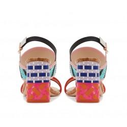 sophia webster promotions sandales Sandales CeliaWEB CELIA SAND T85 - CUIR - MULT