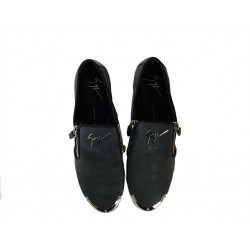 giuseppe zanotti promotions mocassins LoaferGZ F LOAFER ZIP - NUBUCK - ANTHR