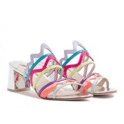 sophia webster promotions sandales Sandales MilaWEB MILA MULE T6 - VERNIS - MULT