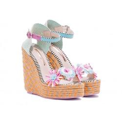 sophia webster promotions sandales Sandales LucitaWEB LUCITA T10 - RAPHIA - MULTIC