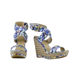 stuart weitzman promotions sandales Sandales XrayXRAY T9 - CUIR IMPRIMÉ - FLEURI