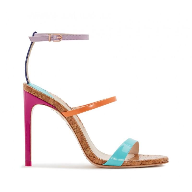 sophia webster nouveautés sandales Sandales RosalindWEB ROSALIND SANDT10 - VERNIS -