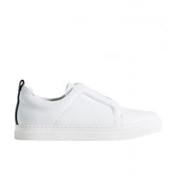 pierre hardy bas Sneakers SliderPHF SLIDER JS02X - CUIR - BLANC