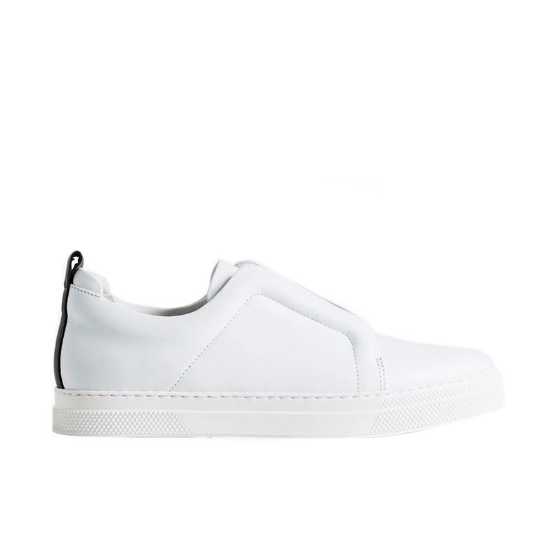 pierre hardy sneakers Sneakers SliderPHF SLIDER JS02X - CUIR - BLANC