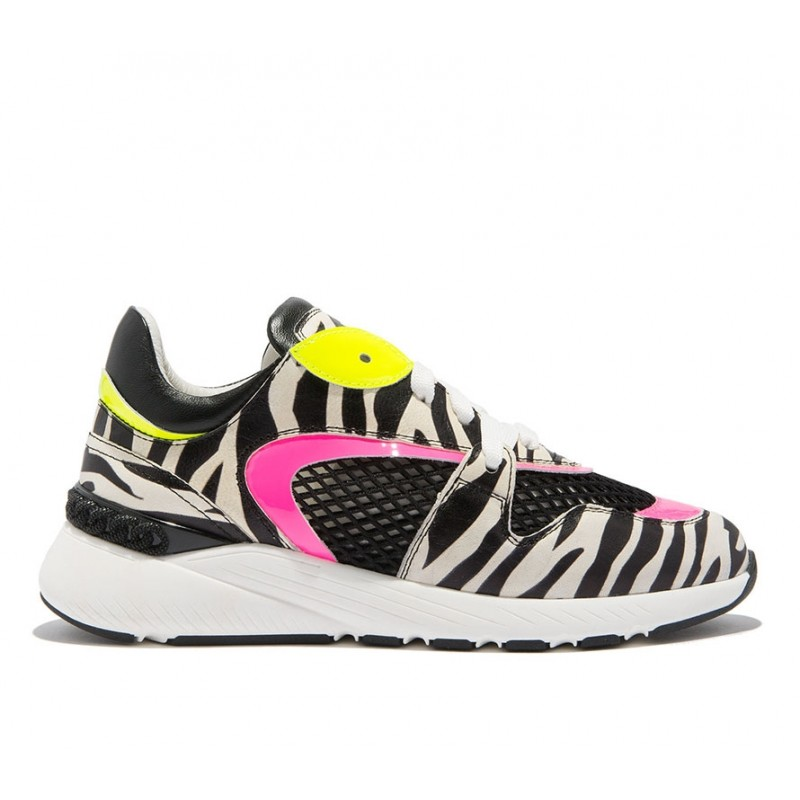 casadei sneakers SneakersCASA SNEAK FLY - CUIR IMPRIMÉ ET