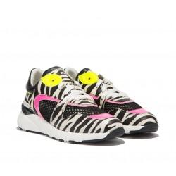 casadei promotions sneakers SneakersCASA SNEAK FLY - CUIR IMPRIMÉ ET