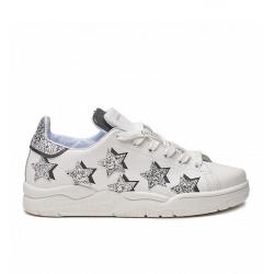 chiara ferragni nouveautés sneakers SneakersCF SNEAK STAR - CUIR ET GLITTERS