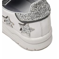 chiara ferragni sneakers SneakersCF SNEAK STAR - CUIR ET GLITTERS