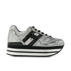 hogan promotions sneakers Sneakers maxi H222ELIUM DOUBLE - NUBUCK IMPRIMÉ -
