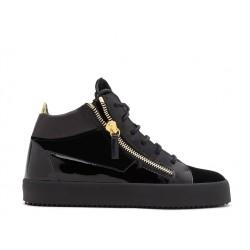 giuseppe zanotti promotions sneakers Sneakers KrissGZ F SNEAK SLE NOIRE - VELOURS E