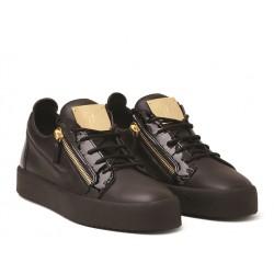 giuseppe zanotti promotions sneakers Sneakers FrankieGZ F FRANKIE (1) - CUIR ET VERNI